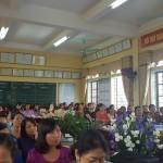 Thầy Dương Viết Bổng , Chuyên viên PGD chia sẻ về HĐ trải nghiệm sáng tạo trong dạy môn Toán 4